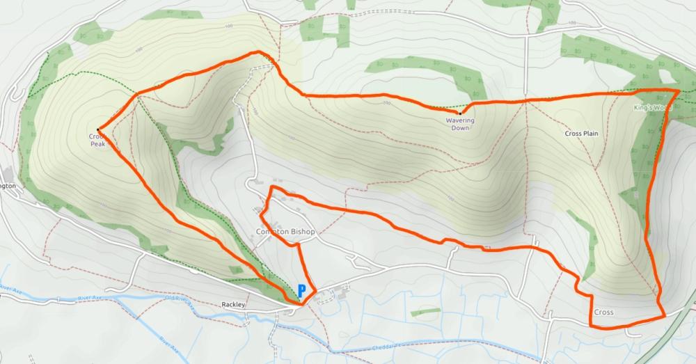 Crook Peak_map